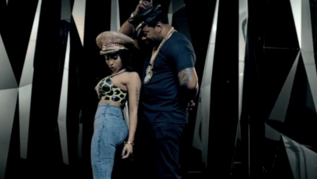 [WATCH] Nicki Minaj Booty Pops For Busta Rhymes' 'Twerk It' Video