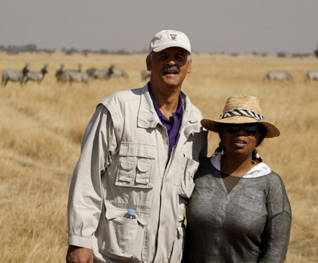 [Photos] Oprah & Stedman Show Off Their Safari Extravaganza