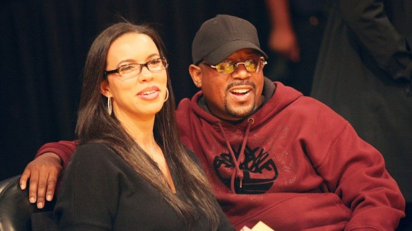 Shamicka lawrence and martin lawrence-hollywood exes-the jasmine brand