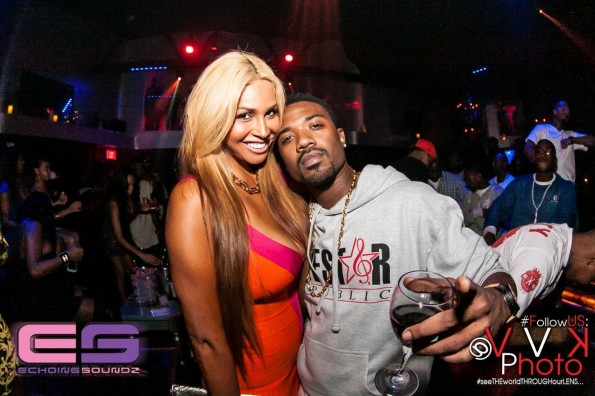 Somaya Reese and Ray J-the jasmine brand