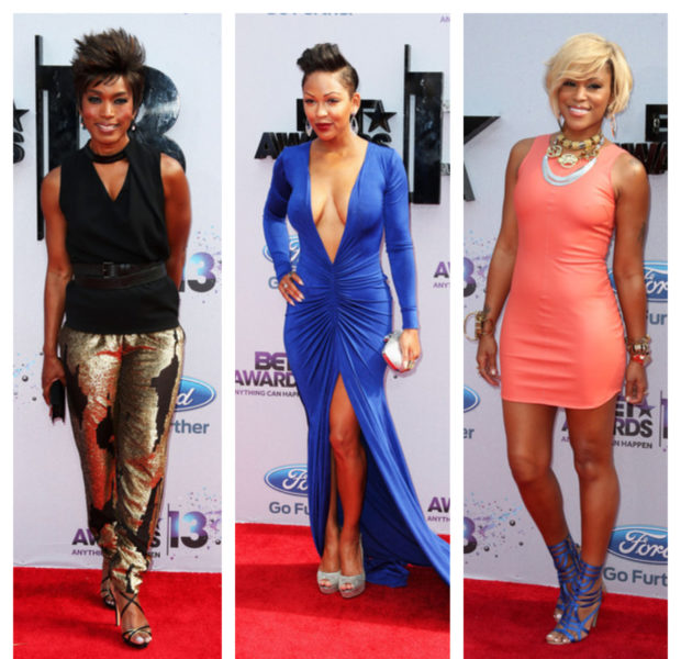 [Photos] Cup Cakin', Fashion & LOTS of Skin Spotted On the BET Awards Red Carpet