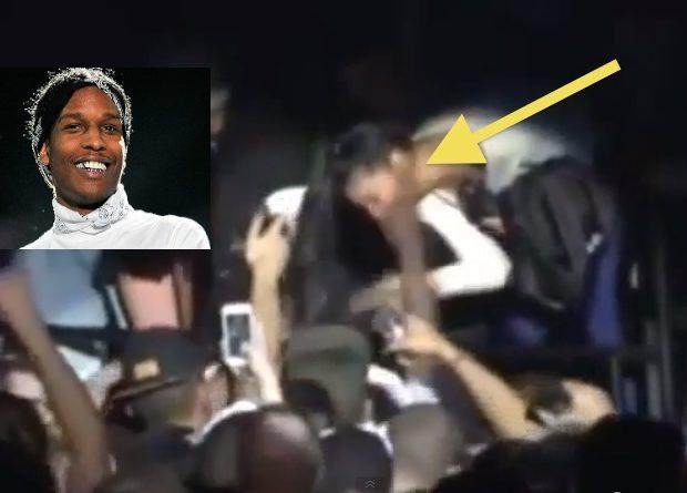 [VIDEO] Footage of A$AP Rocky Allegedly Slapping Female Fan In the Face Leaks