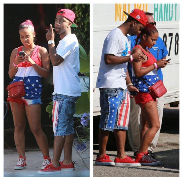 Celebs Get Festive for Independence Day: Beyonce, Amber Rose, June Ambrose & Friends