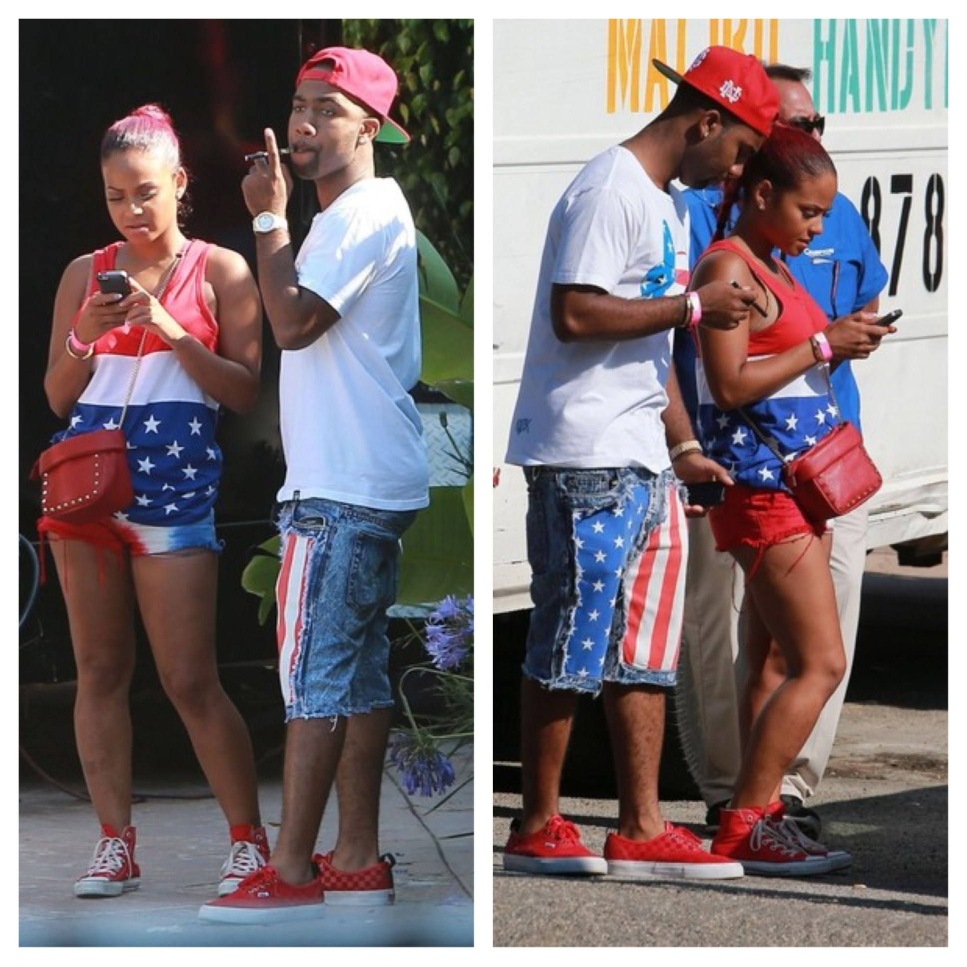 Celebs Get Festive for Independence Day: Beyonce, Amber ...