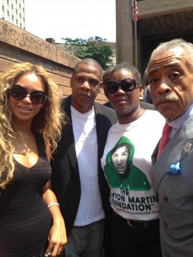 d-beyonce-jayz-attend travyvon martins rally-the jasmine brand