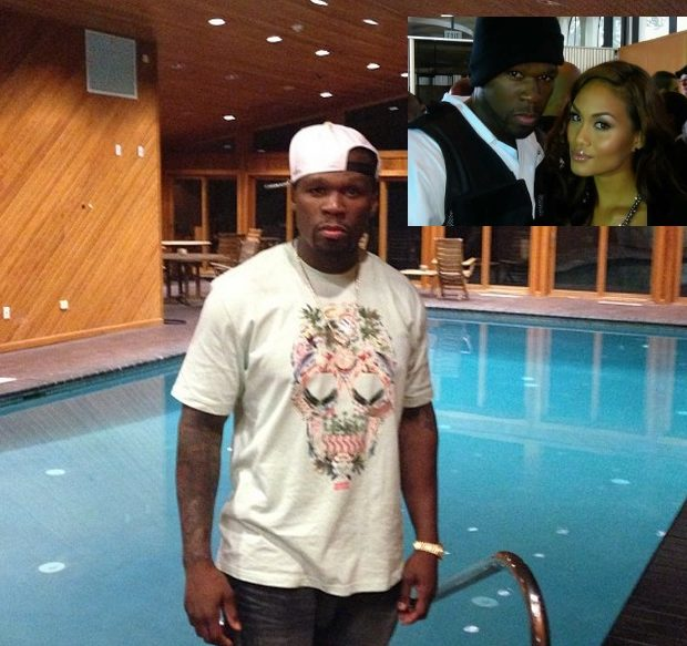 [Photos] 50 Cent Pokes Fun At Reports He's In Jail For Domestic Violence Incident Against His Baby Mama