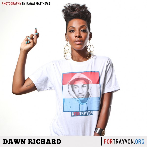 dawn richard-for trayvon campaign-the jasmine brand