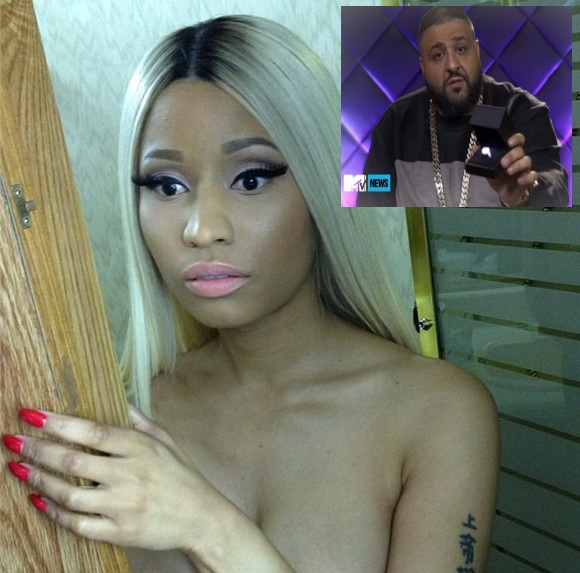 dj khaled-proposes to nicki minaj-will you marry me-the jasmine brand