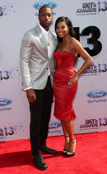 dwade-gabrielle union-bet awards red carpet 2013-the jasmine brand