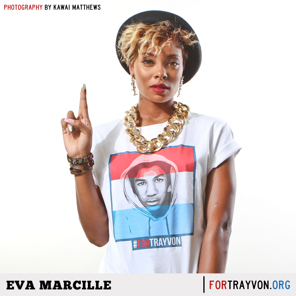eva marcille-dawn richard-for trayvon campaign-the jasmine brand
