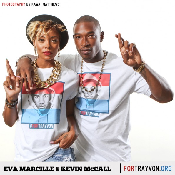eva marcille-kevin mccall-dawn richard-for trayvon campaign-the jasmine brand