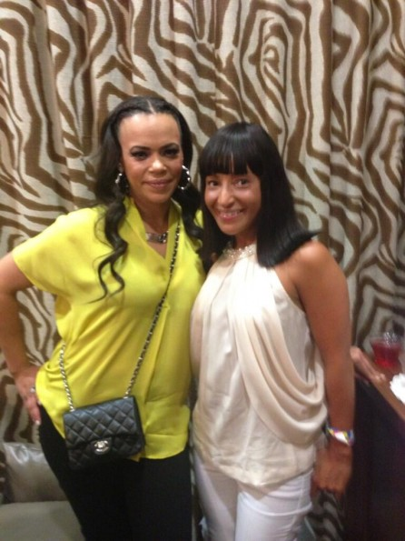 faith evans-spoiled kids fashion show-b-the jasmine brand