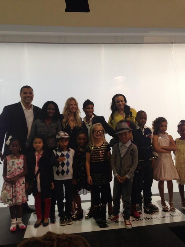 faith evans-spoiled kids fashion show-d-the jasmine brand