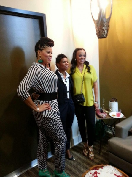 faith evans-spoiled kids fashion show-the jasmine brand