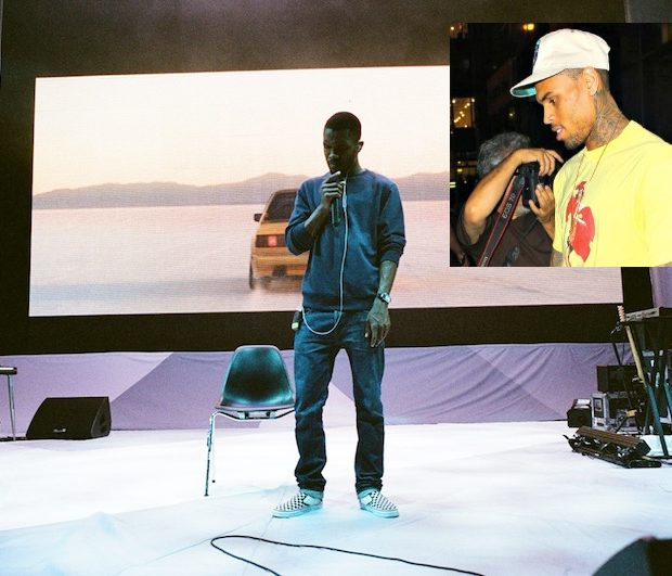 Ear Hustlin': Frank Ocean Takes Aim at Chris Brown, Calls His Music Sloppy + Emily B Announces New Shoe Line
