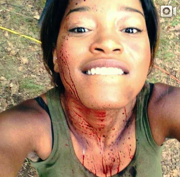 KeKe Palmer Bloody On Set, Soulja Boy Turns 23 In Hollywood With Ex + Denzel Washington & Wife Hit '2 Guns' Premiere