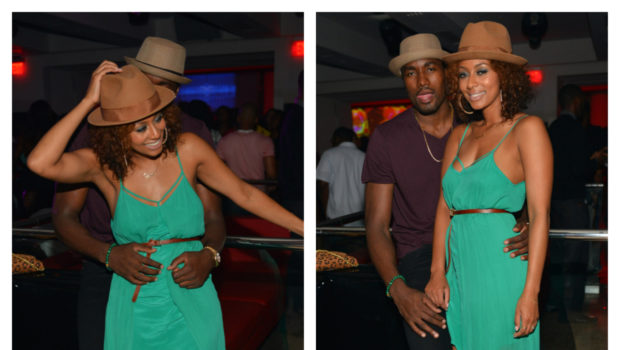 [Photos] Is Keri Hilson A Future Basketball Wife? + NBA Baller Boyfriend Serge & Singer Cup Cakin' in ATL Club