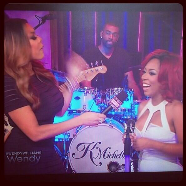 kmichelle-visits wendy williams 2013-the jasmine brand