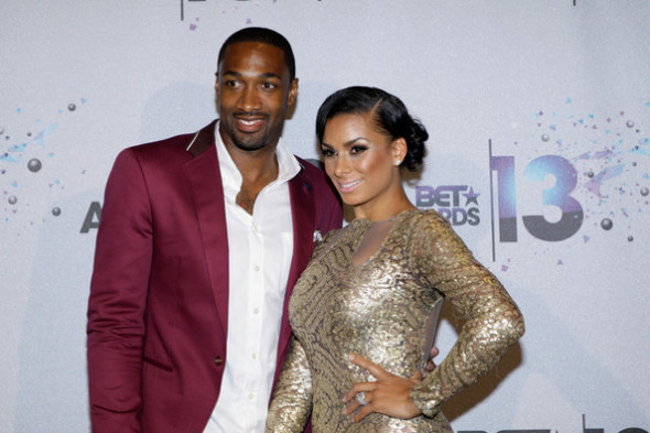 laura govan-gilbert arenas-bet awards 2013-the jasmine brand