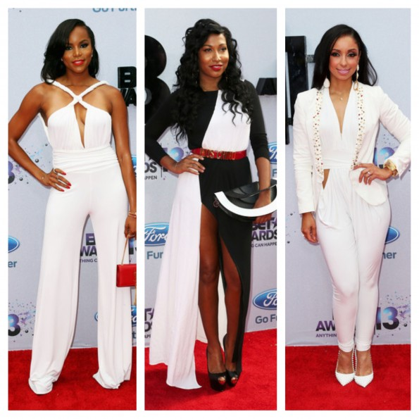letoya luckett-melanie fiona-mya-bet awards red carpet 2013-the jasmine brand