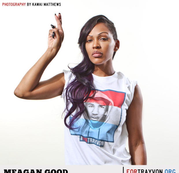 [Photos] Meagan Good, Kym Whitley & Dawn Richard Join For Trayvon Movement