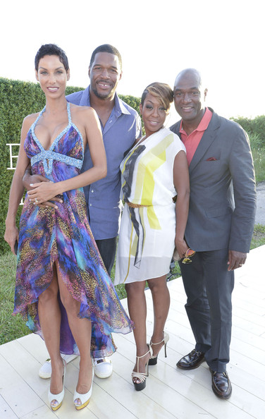 michael strahan-nicole murphy-tischina arnold-art for life 2013-the jasmine brand