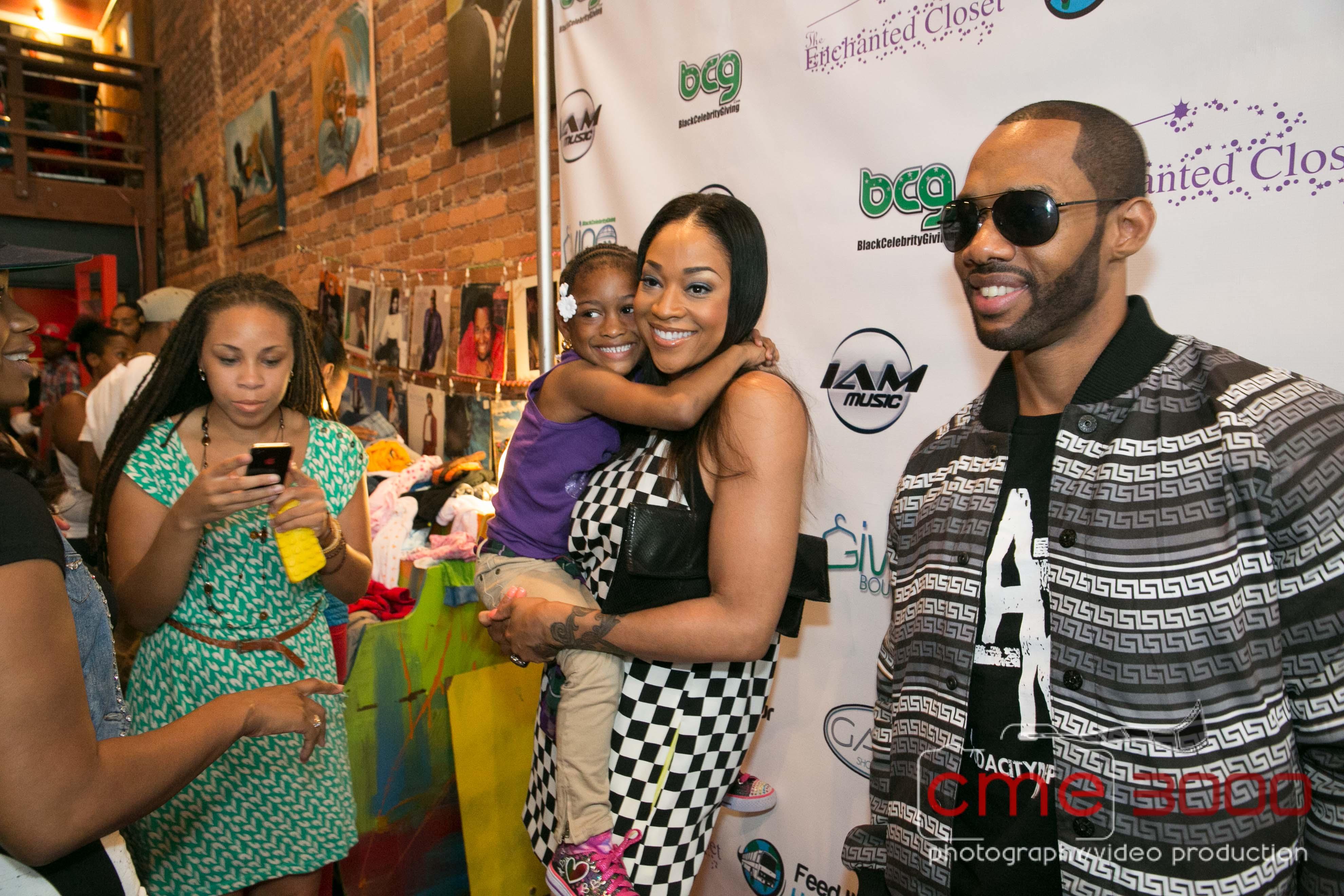 Mimi Faust Nikko Black Celebrity Giving Atlanta 2013 The Jasmine Brand