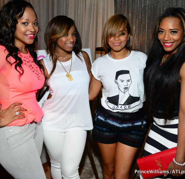 [Photos] Lauren London Hosts 'Beauty Is Love' Lounge, Reality Stars Shay Johnson, Yandy Smith & Quad Webb Lunceford Pop Up for Support