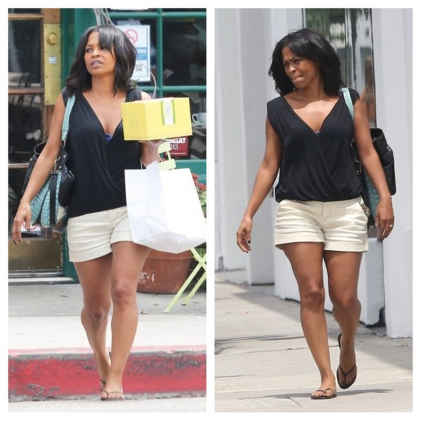 nia long-la shopping 2013-the jasmine brand