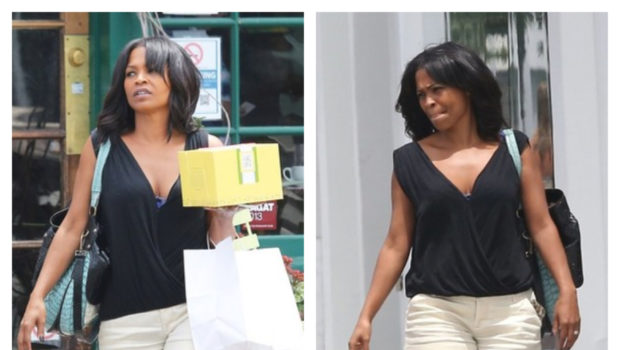 Nia Long Shops In LA, Robin Thicke Plays Mr. Mom + Diddy's Kids Take Over the Beach