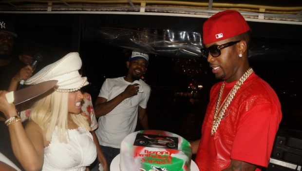 [Photos] Nicki Minaj Throws B-Day Cruise for Boyfriend Safaree + Yandy Smith, Jennifer Williams & Friends Attend