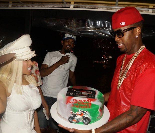 [Photos] Nicki Minaj Throws B-Day Cruise for Boyfriend Safaree + Yandy Smith, Jennifer Williams & Friends Attend