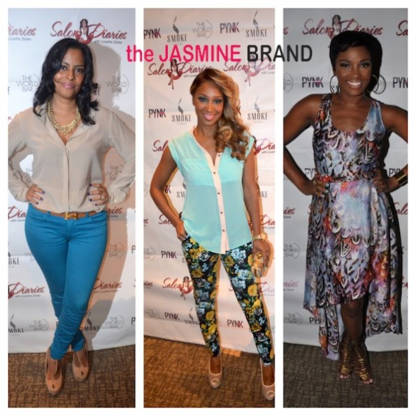 raqui thunda-olivia-ariane davis-love and hip hop-salon diaries-the jasmine brand
