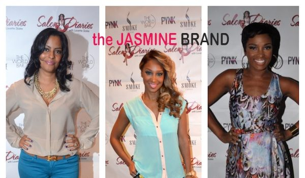 [Photos] Love & Hip Hop's Olivia, Ariane Davis + MTV's Tionna Smalls Attend 'Salon Diaries' Event