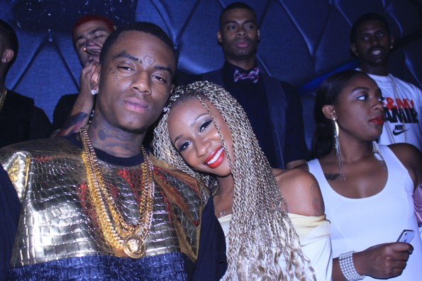 soulja boy-birthday party-with ex girlfriend diamond-the jasmine brand