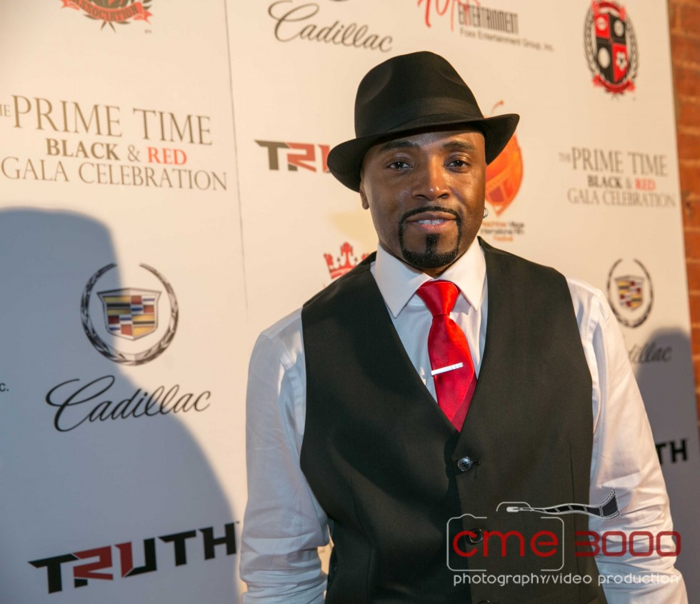 teddy riley-DEION SANDERS Prime Time Black and Red GALA-the jasmine brand