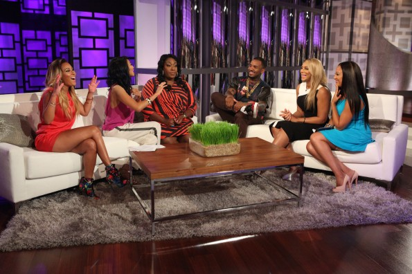 the game-the real-talk show-tamar braxton-adrienne bailon-lonnie love-episode 1-the jasmine brand