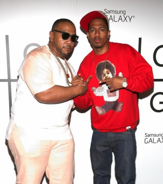 timbaland-nick cannon-magna carta holy grail release party-the jasmine brand