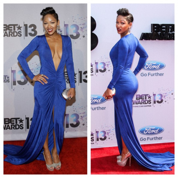 twitter-instagram-reacts to meagan goods dress-bet awards 2013-the jasmine brand
