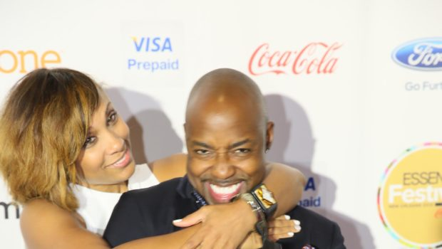 [Photos] She Said Yes! Movie Producer Will Packer Proposes To Girlfriend At Essence Festival