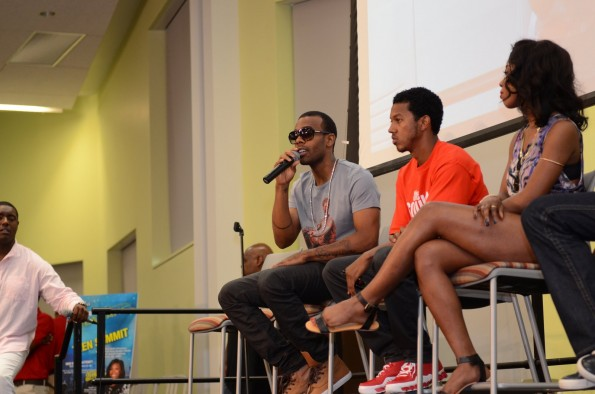 Mario Wesley Sevyn on celeb panel-the jasmine brand