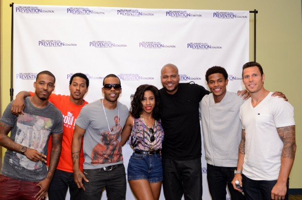 Power 107.9 DJ Damage Wesley Mario Sevyn Vincent Ward Trevor Jackson Riley Coyte-the jasmine brand