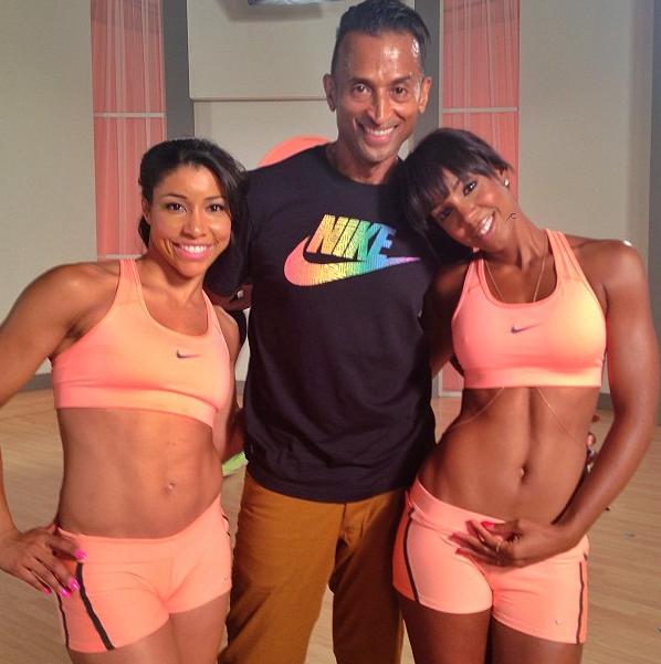 Jeanette-Jenkins-Patrick-Goudeau-Kelly-Rowland-Workout-2013-The-Jasmine-Brand