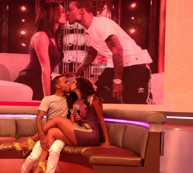 VIDEO] Is That Tongue? Tyra Banks Locks Lips With Bow Wow on
