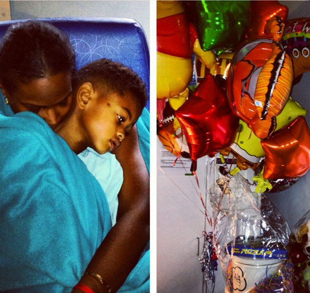 Tameka Raymond Shows First Photo of Son Since Pool Accident