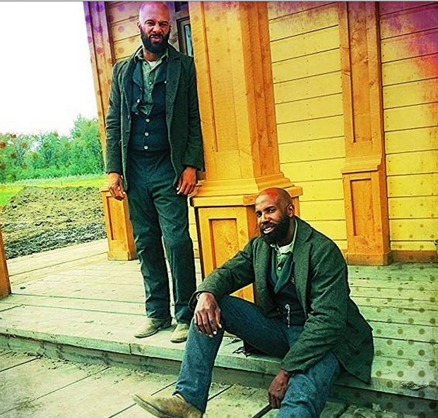 Stop & Stare: Rapper Common Exudes #BeardPorn For 'Hell On Wheels'
