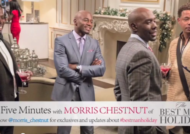 [INTERVIEW] Morris Chestnut Talks Real Tears, 'The Best Man Holiday' + Being Rejected in Hollywood