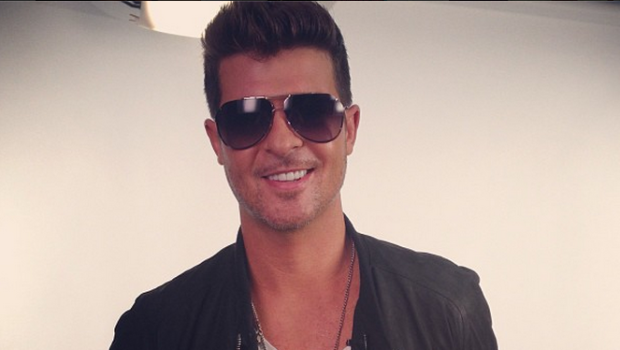 Robin Thicke 'Respectfully' Slaps Marvin Gaye's Family With A Lawsuit