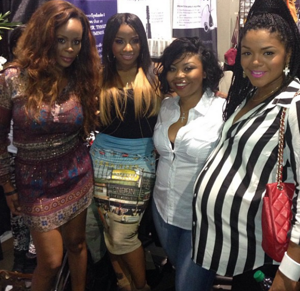 [Photos] Weave, Hair & Drama! Porsha Stewart, Rasheeda & More Reality Stars Engulf Bronner Brothers Hair Show
