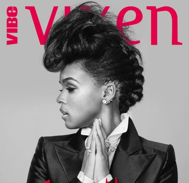 'I've evolved.' – Janelle Monáe Covers Vibe Vixen